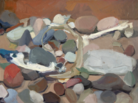 Box of Rocks I   10 x14   Oil on Panel   2020