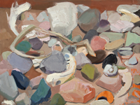 Box of Rocks III   10x14   Oil on Panel   2020